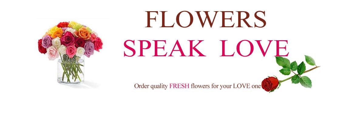 Flowers Speak LOVE