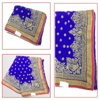 Nobel SAREE Blue.